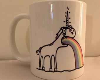 Funny Unicorn Coffee Coffee Mug