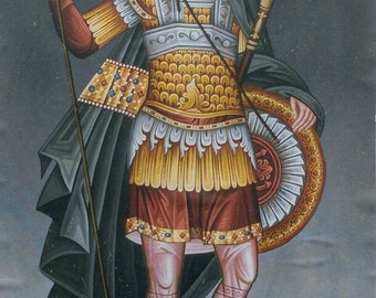 Saint Dimitrios from Thessaloniki Greece