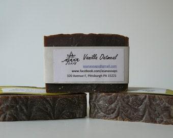 Vanilla Oatmeal Soap Bar