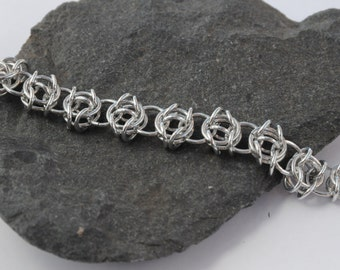 Celtic Visions Chain Maille Bracelet // Maille Jewellery