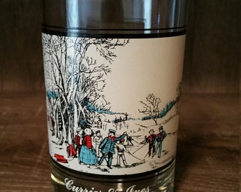 Vintage 1978 Arby's Collector's Series Currier & Ives Glasses (2 of 4)