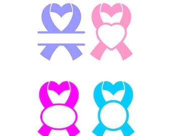 Cancer SVG, Cancer Awareness, Cancer Ribbon, Ribbon SVG, SVG Files, Vector Art, Cricut Design Space, Silhouette Studio, Vinyl Cut Files
