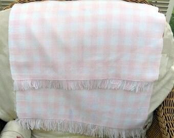 Hand woven Baby Blanket