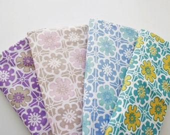 Batik Fabric, Indonesian Batik, Batik Print, Sarong, Cotton, Spanish Tiles, With Borders, 4 Colours, 2 Metre long