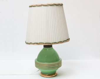 Green candy lamp