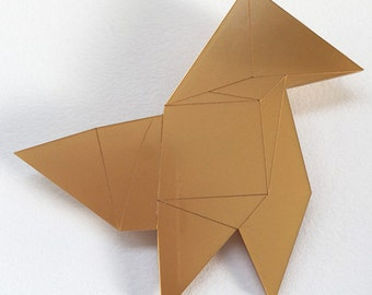 Slow cooker Golden pin origami