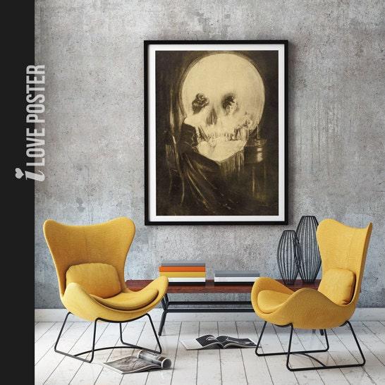 Sherlock The Abominable Bride Skull Poster Sherlock Skull