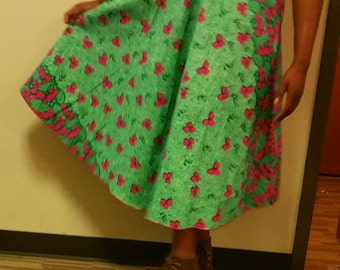 Full flared women's skirt..Ready to ship