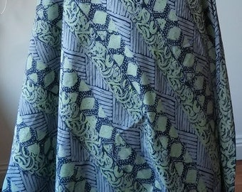 Atma Alam Batik Print Fabric from Malaysia - 100% Cotton Lawn