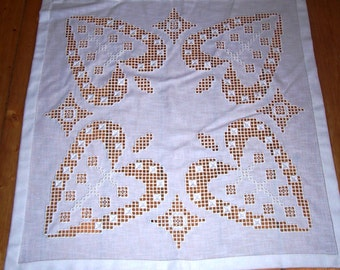 Hardanger altar cloth Altarcloth others heart