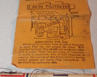Antique car alarm