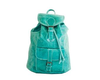 Turquoise Marine Rucksack (Medium)