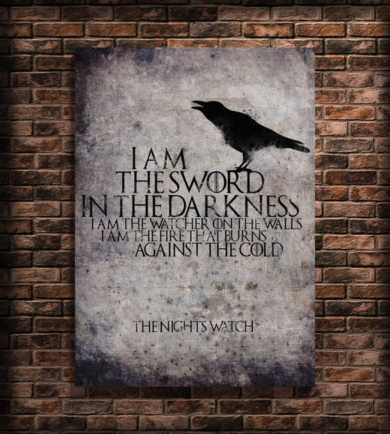 Items similar to game of thrones art wall decal print for Decoration murale game of thrones