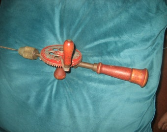 Oldtimer 1940s/50s Hand Drill Tool
