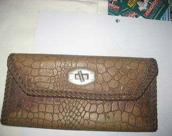 Handmade 1970s Leather Wallet