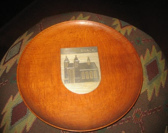 Bad Wilsnack German Collector Wooden Plate