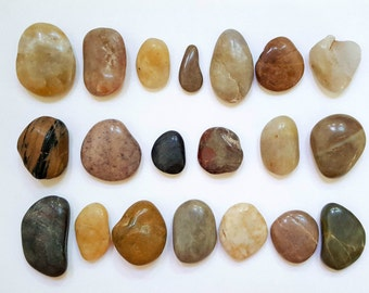 Decorational Vase Filler River Stones Rocks