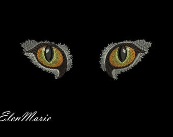 Cat eyes - MACHINE EMBROIDERY DESIGN