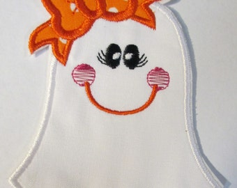 Ready To Ship in 3-5 Business Days- Halloween Iron On Embroidered Applique