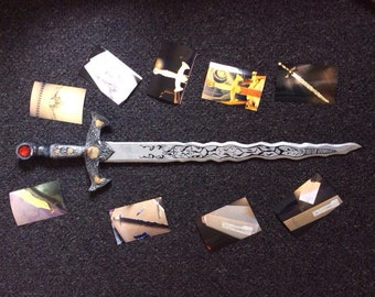 Excalibur inspired Sword