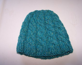 Cabled hat