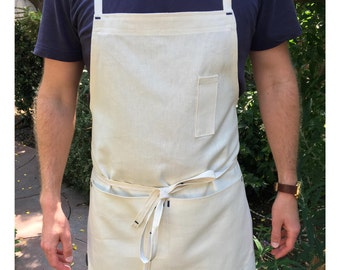 Hemp / Organic Cotton Cross-Back Apron