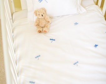 Mini Dragonfly Cot Bed Duvet Cover