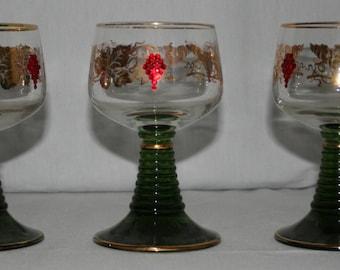 Vintage German Roemer Glasses