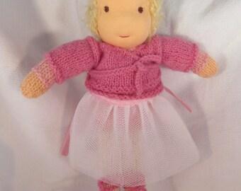 Ballerina Odette Waldorf style doll