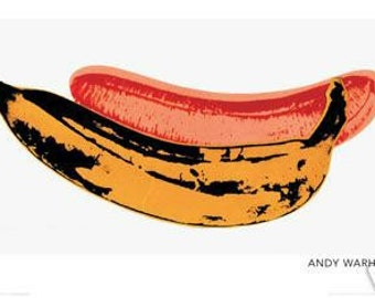 Banana Andy Warhol - New 24x36 Poster - Collector Print