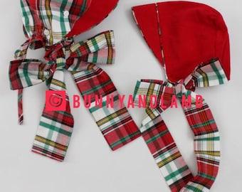2016 Momogrammed Christmas Bonnet