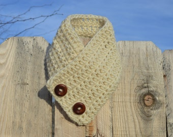 Wood and Wool Cowl