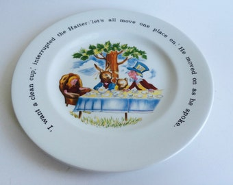 Johnson Brothers Ironstone Alice in Wonderland Plate