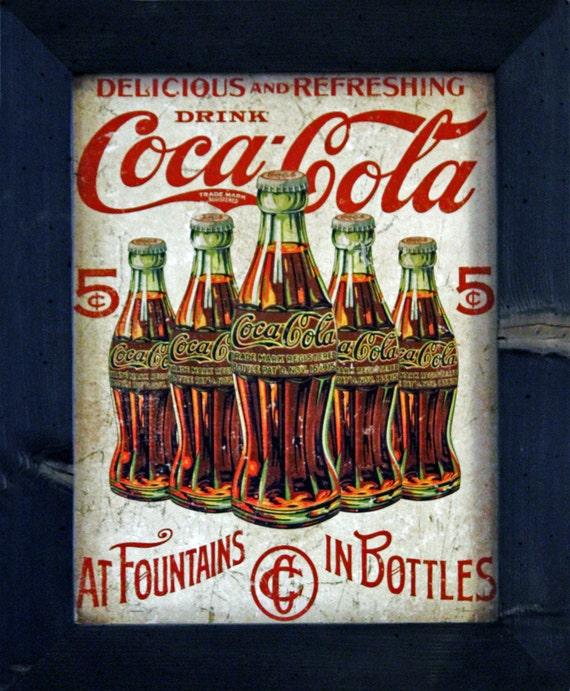 Coca Cola Kitchen Curtains: Coke Decor Coca Cola Decor Kitchen Decor 15.5x19 By