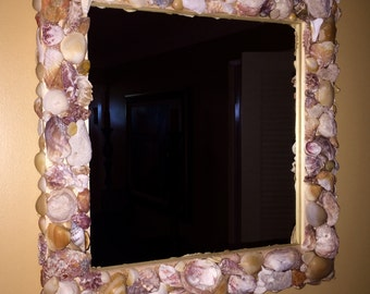 Sandman Sea Shell Mirror