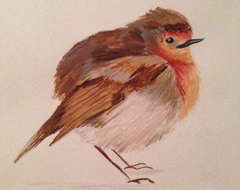 Scruffy Robin
