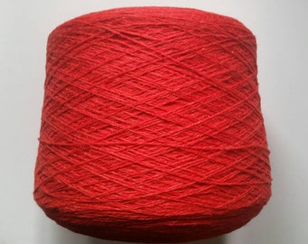 Loro piana cashmere yarn 100% cashmere (red)  2 lb 5 oz