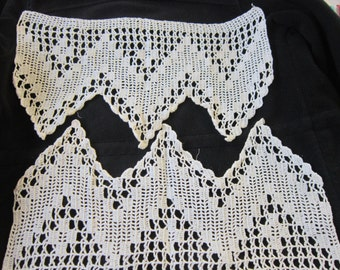 Crocheted Lace Edging circa 1940s