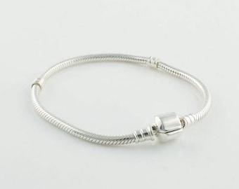 Bracelet Chain with Barrel Clasp