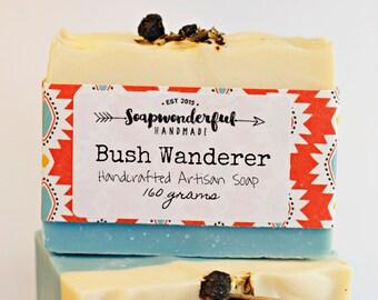 Bush Wanderer Eucalyptus Tea Tree Cold Process Soap Bar