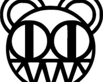 Radiohead Logo Cross Stitch Pattern