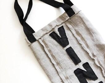 FREE SHIPPING Wine gift bag - Reusable bag - Eco bag