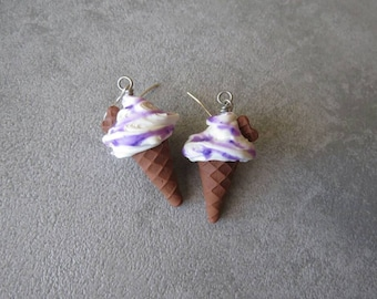 Ice cream earrings!!!