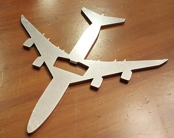 747 Airliner Aircraft Bottle Opener