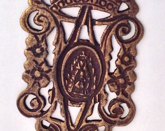 Medal Bronze Ava Maria Rosary Center