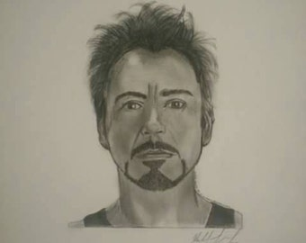 Robert Downey Jr Etsy