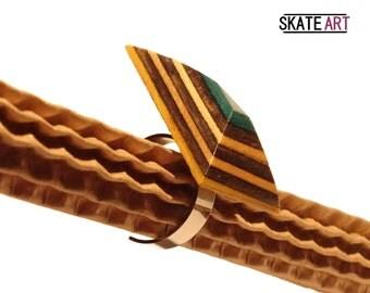Anillo skate & acero
