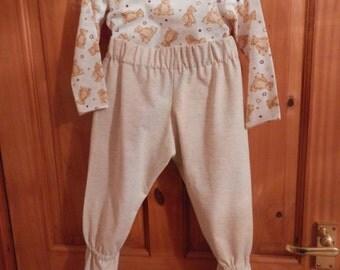 handmade footie pyjamas