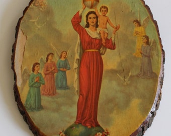 "Shop ""wood slices"" in Spirituality & Religion"