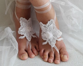 wedding shoes,summer shoes,bridal accessories, white lace, wedding sandals, shoes, bridal sandals, bridesmaids. wedding gifts,free shipping!